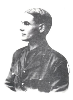 William Hope Hodgson in uniform